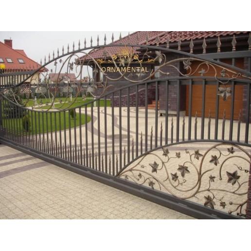 Brama kuta Malopolska przesuwna BK15
