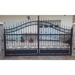 Brama kuta dwuskrzydłowa BK17