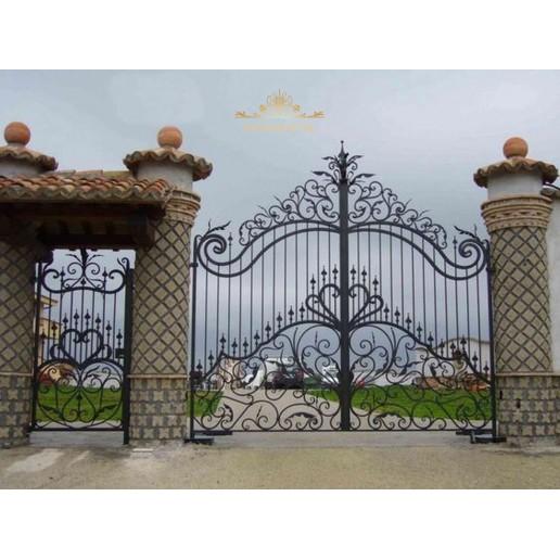 Brama kuta Andrychów tradycyjna BK04