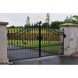 Brama kuta Katowice dwuskrzydłowa BK05