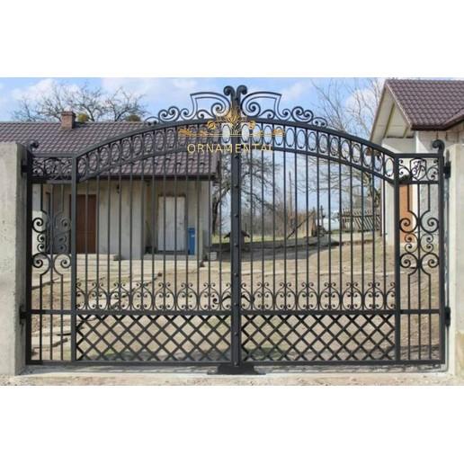 Brama kuta Olkusz tradycyjna BK03