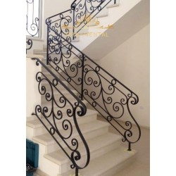 Balustrady schodowe Slask BS07