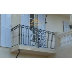 Balustrada kuta balkonowa BB01