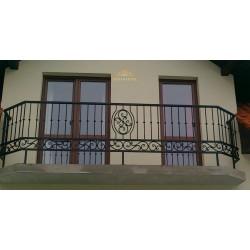 Balustrada kuta balkonowa BB02