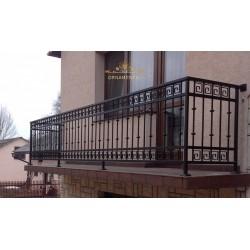 Balustrada kuta balkonowa BB05