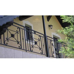 Balustrada kuta balkonowa BB06