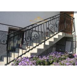 Balustrada kuta balkonowa BB07