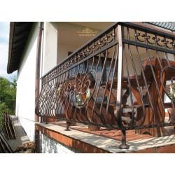 Balustrada kuta balkonowa BB08