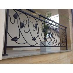 Balustrada kuta balkonowa BB10