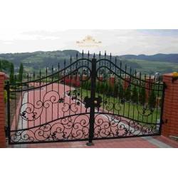 Brama kuta dwuskrzydłowa BK23