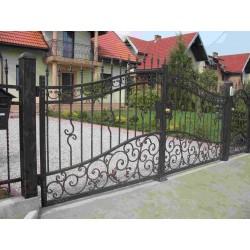Brama kuta dwuskrzydłowa BK25