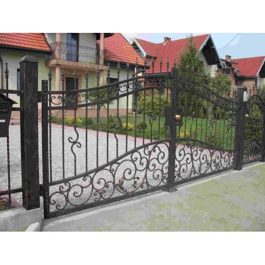 Brama kuta Slask dwuskrzydłowa BK25