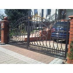Brama kuta dwuskrzydłowa BK30