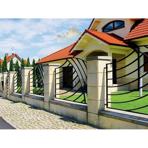 Ogrodzenie Wadowice nowoczesne ON11