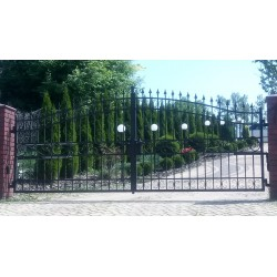 Brama kuta dwuskrzydłowa BK35