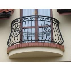 Balustrada kuta balkonowa BB17