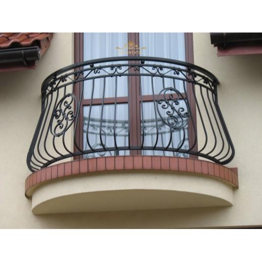 Balustrada kuta balkonowa Oświęcim BB17