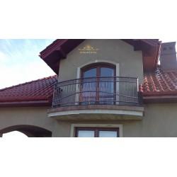 Balustrada kuta balkonowa BB18
