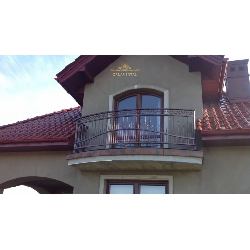 Balustrada kuta balkonowa Zator BB18