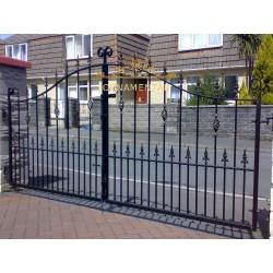 Brama kuta dwuskrzydłowa BK37