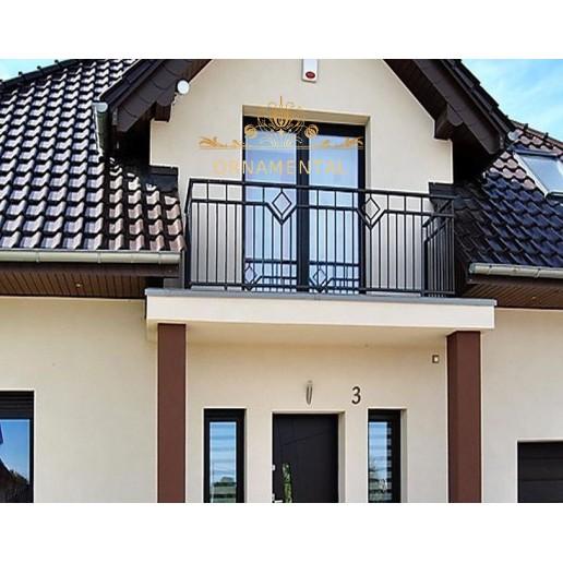 Balustrada kuta balkonowa BB26