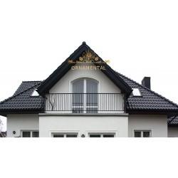 Balustrada kuta balkonowa BB28