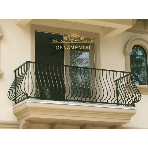 Balustrada kuta balkonowa BB33
