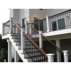 Balustrada kuta balkonowa BB35