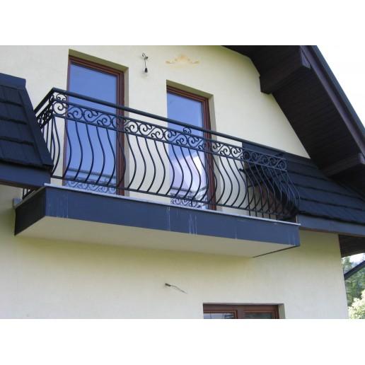 Balustrada kuta balkonowa BB39