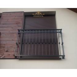 Balustrada kuta balkonowa BB14