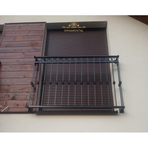 Balustrada kuta balkonowa Nielepice BB14