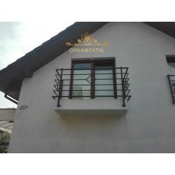 Balustrada kuta balkonowa BB43