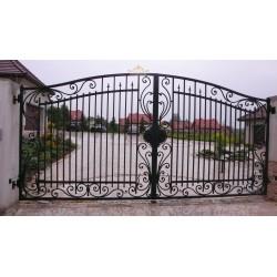 Brama kuta dwuskrzydłowa BK12